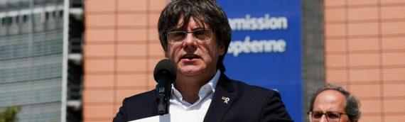 """Puigdemont avisa el Congrés que suspendre els diputats presos és """"prevaricar"""""""