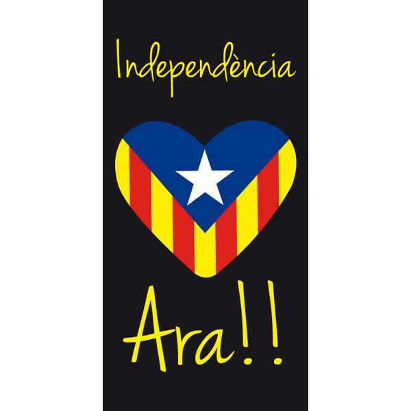 Tovallola Cor Estelada Independència Ara