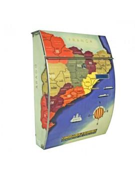 Bústia gran mapa Catalunya